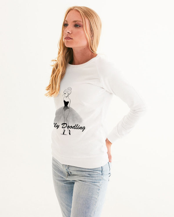 DOLLY DOODLING LOGO Women's Graphic Sweatshirt