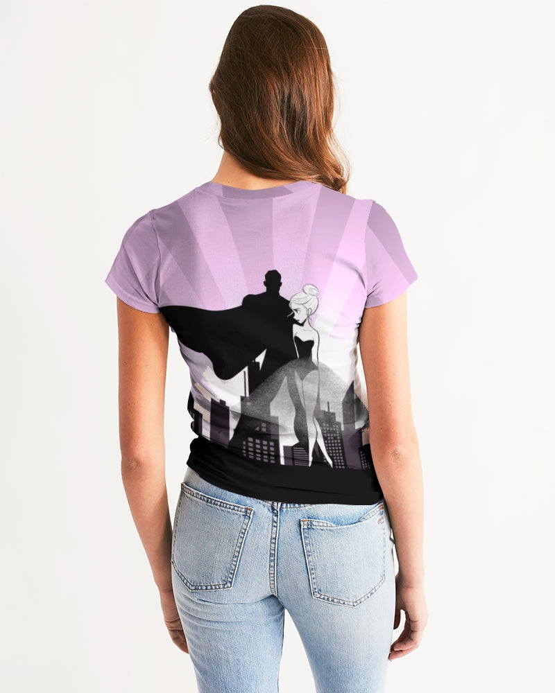 DOLLY DATING PURPLE Women's Tee
