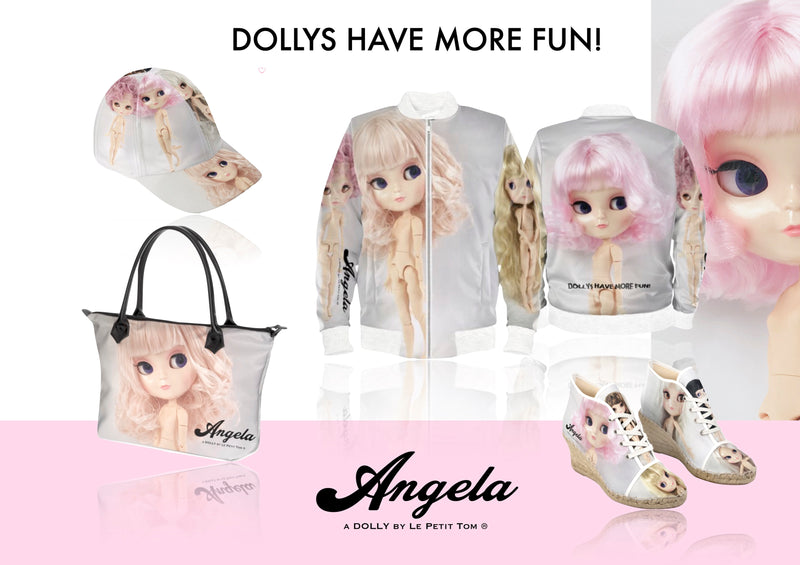 ANGELA DOLLY DESIGNER BASEBALL CAP full color