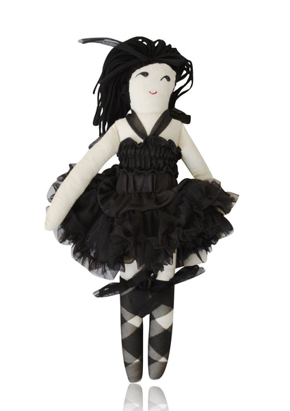 DOLLY by Le Petit Tom ® AUDREY DOLL black - DOLLY by Le Petit Tom ®
