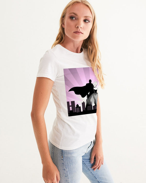 DOLLY DATING PURPLE Women's Graphic Tee