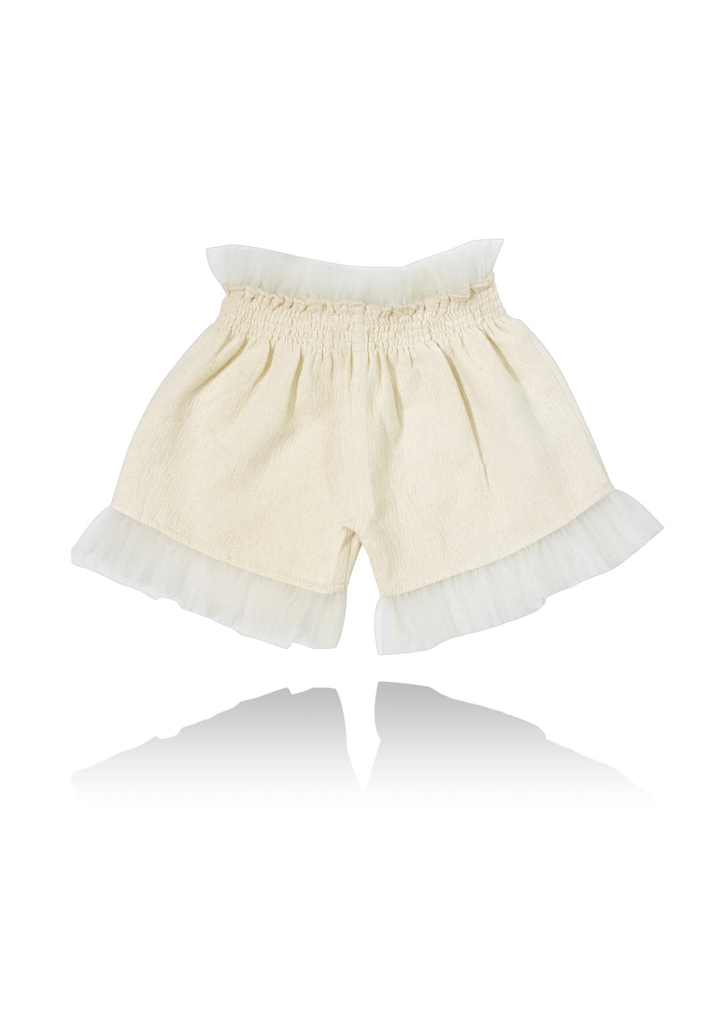DOLLY by Le Petit Tom ® JEWELER'S CRYSTALS ballerina shorts