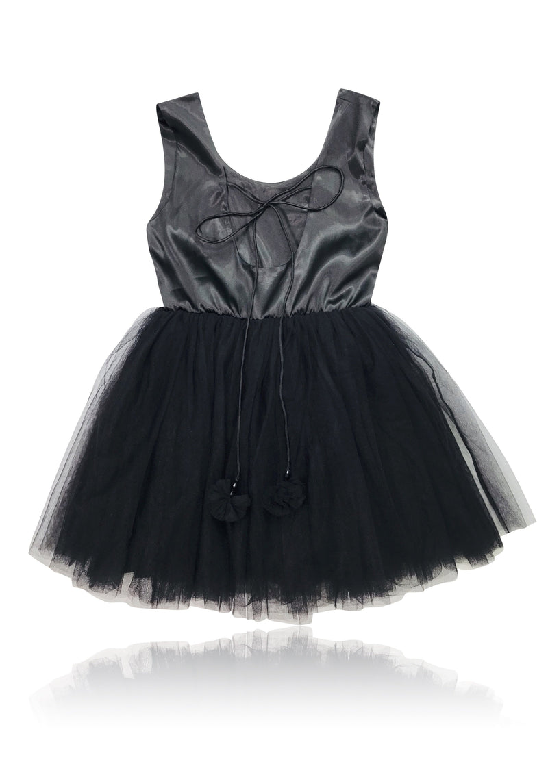 DOLLY by Le Petit Tom ® SIGNATURE BALLET DRESS black - DOLLY by Le Petit Tom ®