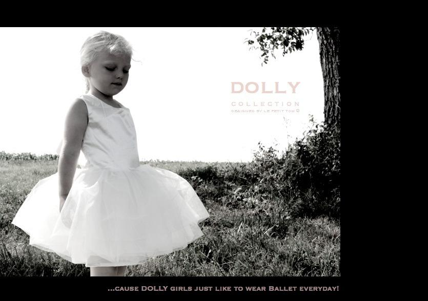 DOLLY by Le Petit Tom ® BALLET DRESS off-white - DOLLY by Le Petit Tom ®
