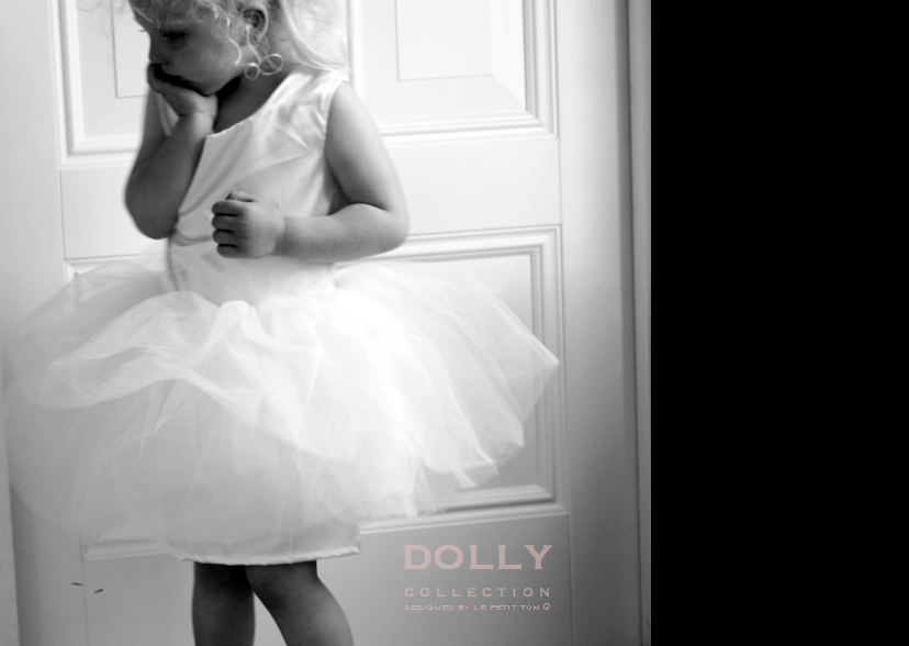 DOLLY by Le Petit Tom ® BALLET DRESS light pink - DOLLY by Le Petit Tom ®