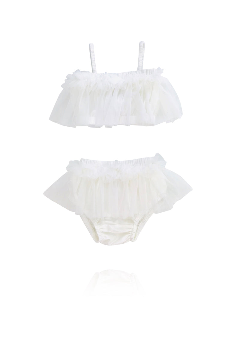 DOLLY by Le Petit Tom ® BEACH BALLERINA BIKINI/ UNDERWEAR off-white