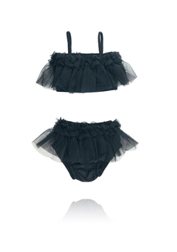 [ OUTLET!] DOLLY by Le Petit Tom ® BEACH BALLERINA BIKINI/ UNDERWEAR black