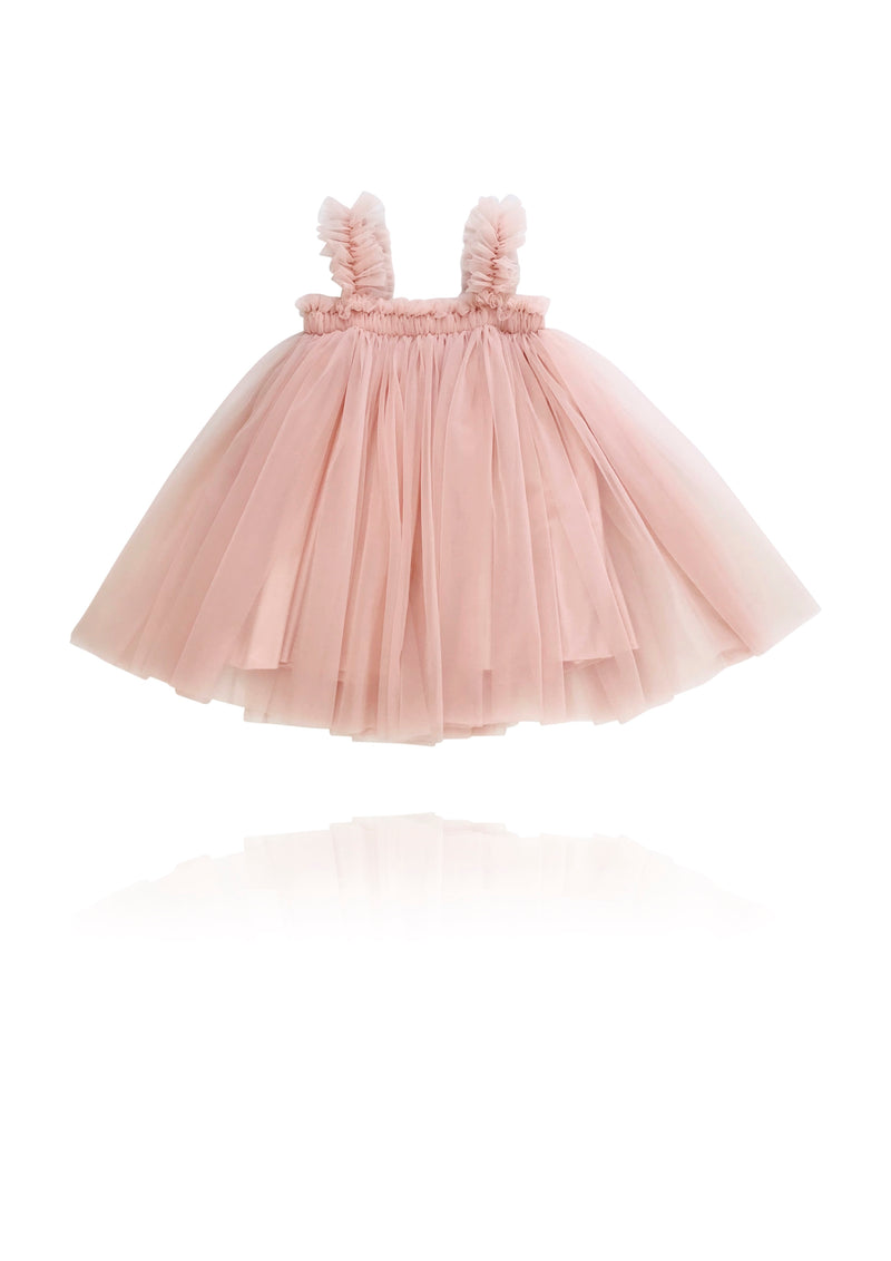 DOLLY by Le Petit Tom ® TUTU DRESS BEACH COVER UP ballet pink