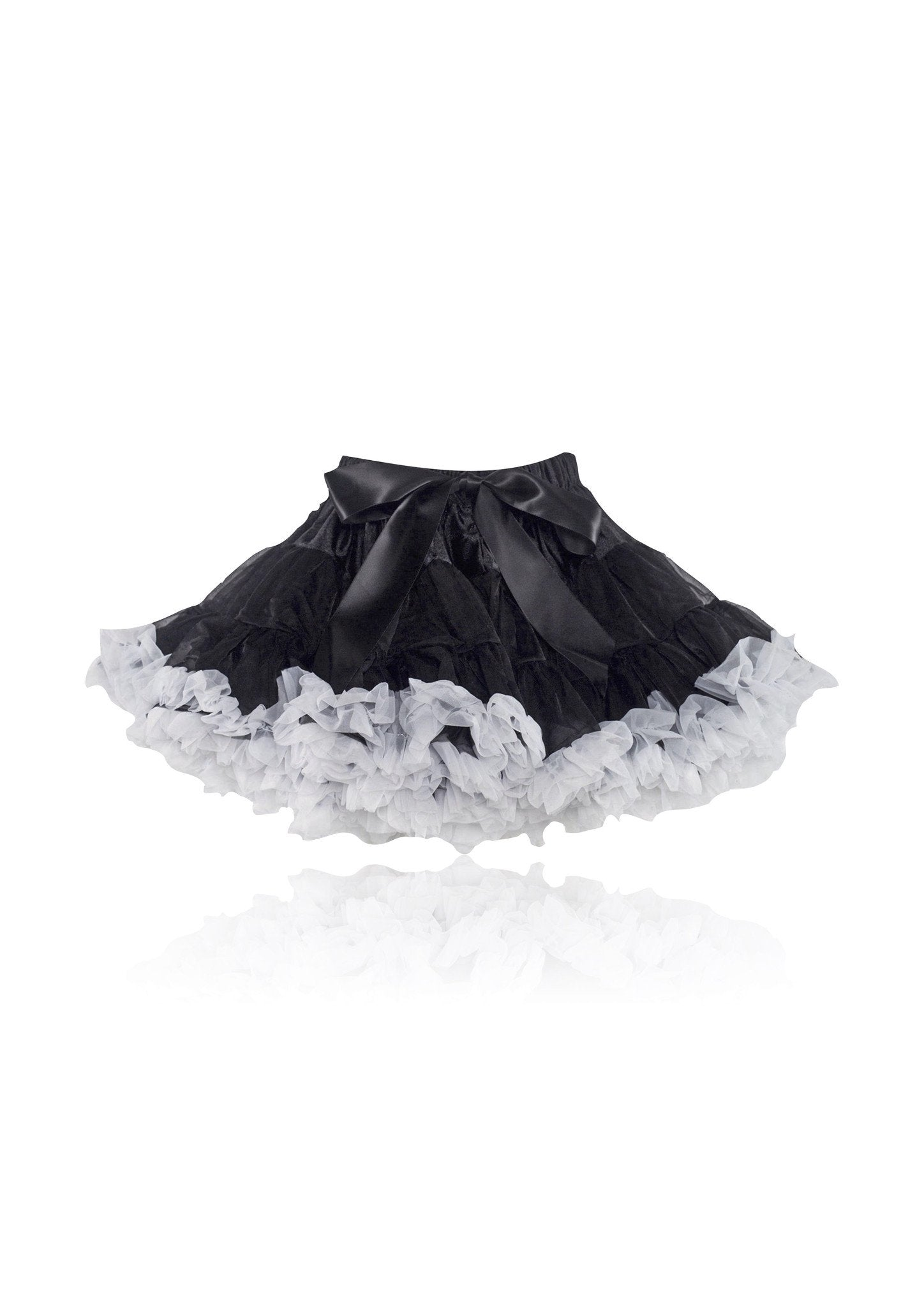 DOLLY by Le Petit Tom ® BLACK BEAUTY pettiskirt black white - DOLLY by Le Petit Tom ®
