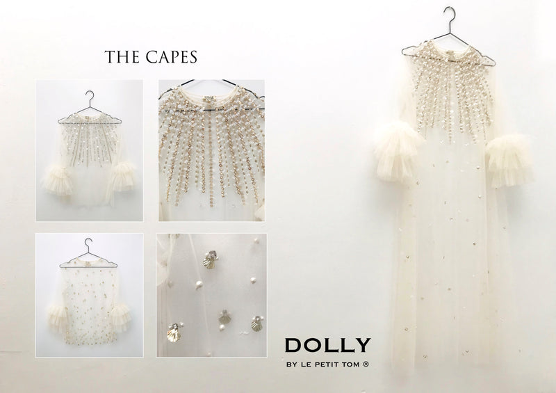 [ OUTLET] DOLLY GOLIGHTLY BREAKFAST @ TIFFANY'S 'shining' maxi cape I ♥ Coffee