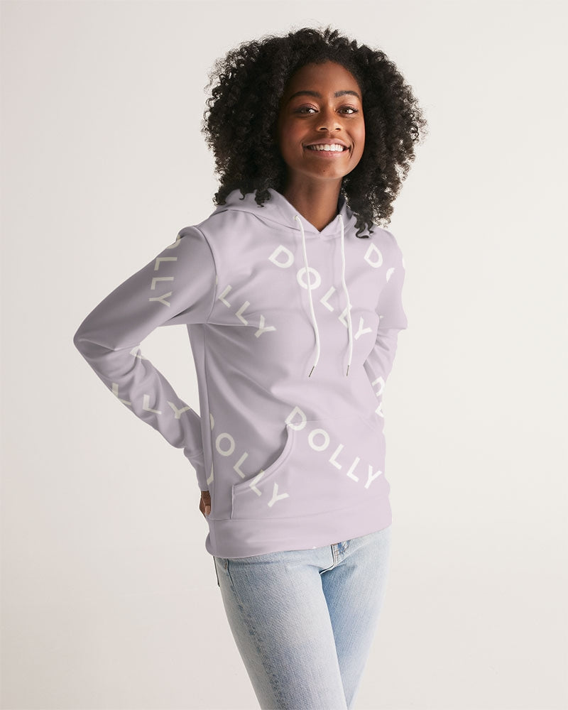 DOLLY REPEAT LOGO LITTLE LAVENDER Women's Hoodie
