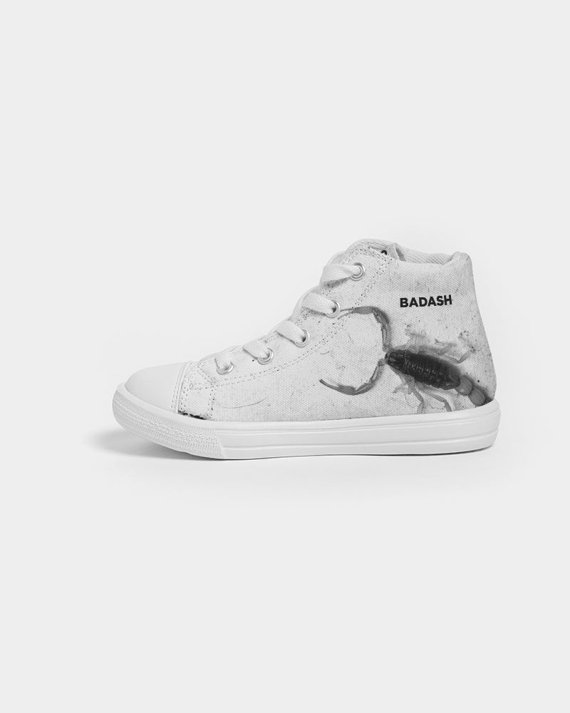 BADASH Kids Hightop Canvas Shoe