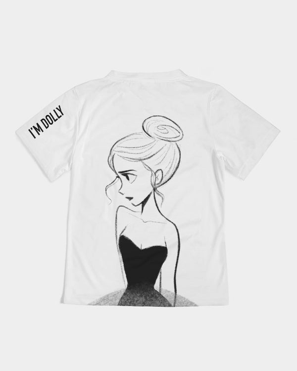 DOLLY DOODLING Ballerina Kids Tee