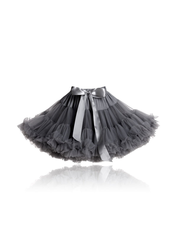 DOLLY by Le Petit Tom ® PRINCESS & THE PEA pettiskirt dark grey - DOLLY by Le Petit Tom ®
