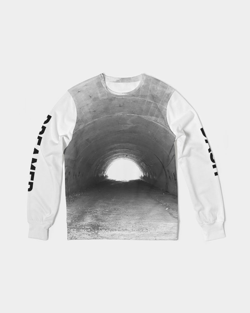 DASH DREAMER Men's Classic French Terry Crewneck Pullover