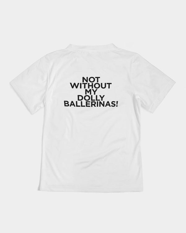 DOLLY BALLERINAS BALLET PINK 2 Kids Tee