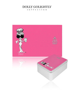 [MADE TO ORDER!] DOLLY GOLIGHTLY PUZZLE IN TIN 1000pcs Golightly pink