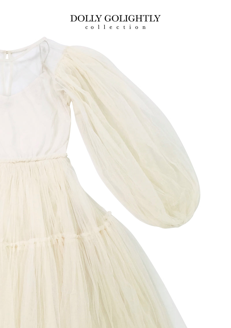[ OUTLET] DOLLY GOLIGHTLY TEA TUTU DRESS I ♥coffee