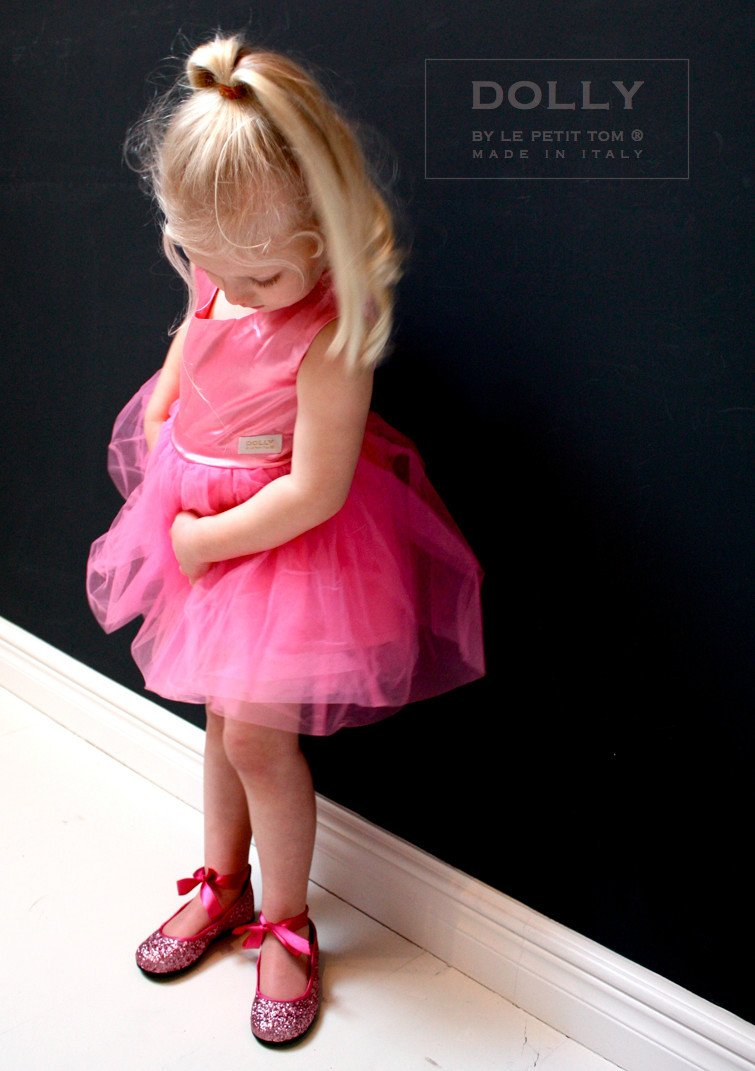 DOLLY by Le Petit Tom ® BALLET DRESS pink - DOLLY by Le Petit Tom ®