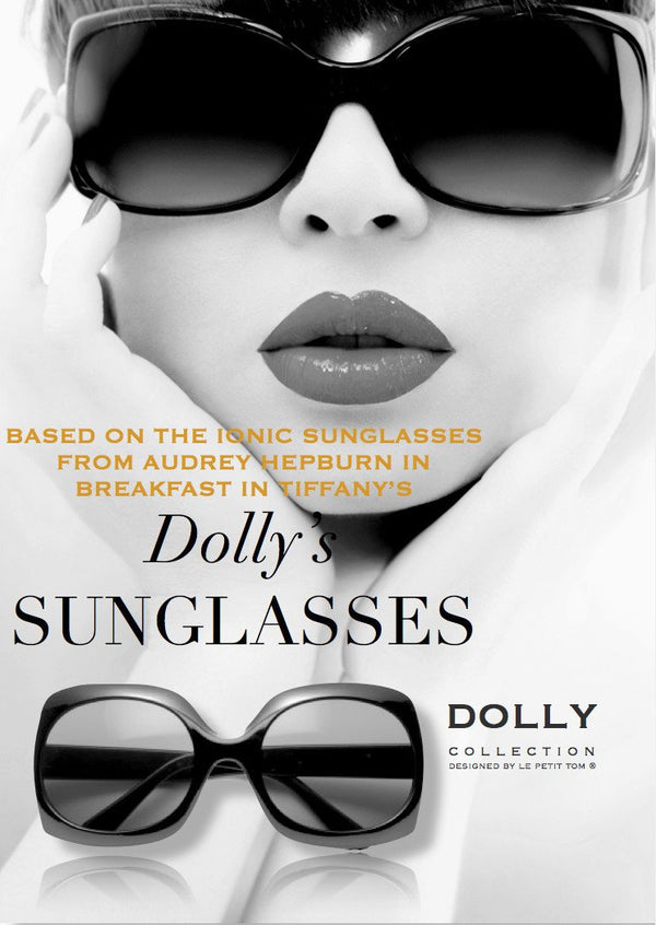 DOLLY by Le Petit Tom ® Retro SUNGLASSES black - DOLLY by Le Petit Tom ®