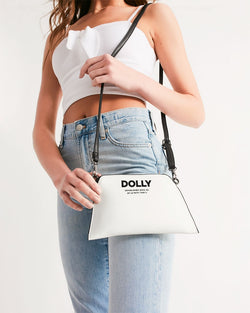 DOLLY ESTABLISHED WHITE Wristlet