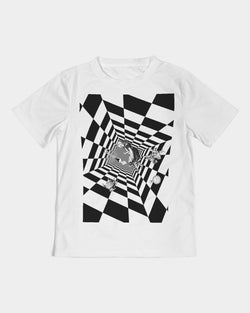 DOLLY DOWN THE RABBIT HOLE Kids Tee
