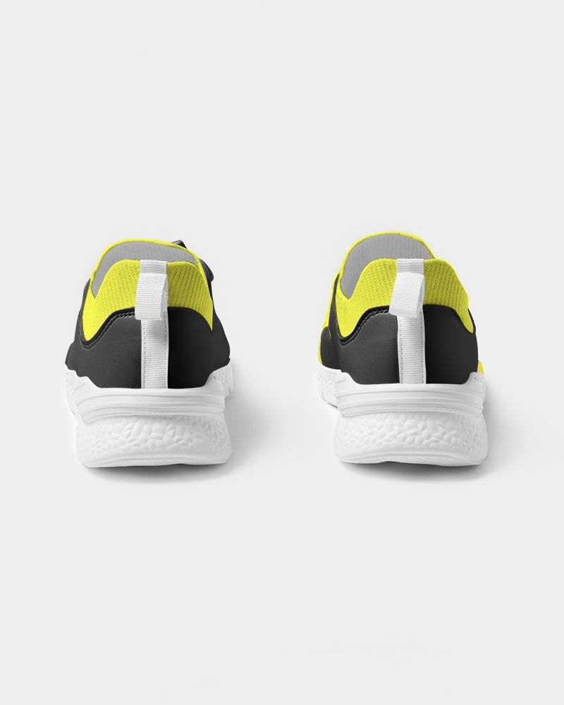 I'M DOLLY DOODLING Ballerina Neon Yellow Women's Two-Tone Sneaker