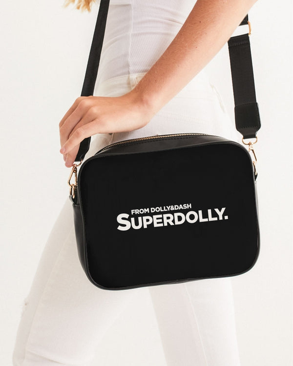 SUPERDOLLY. BLACK BOX Crossbody Bag