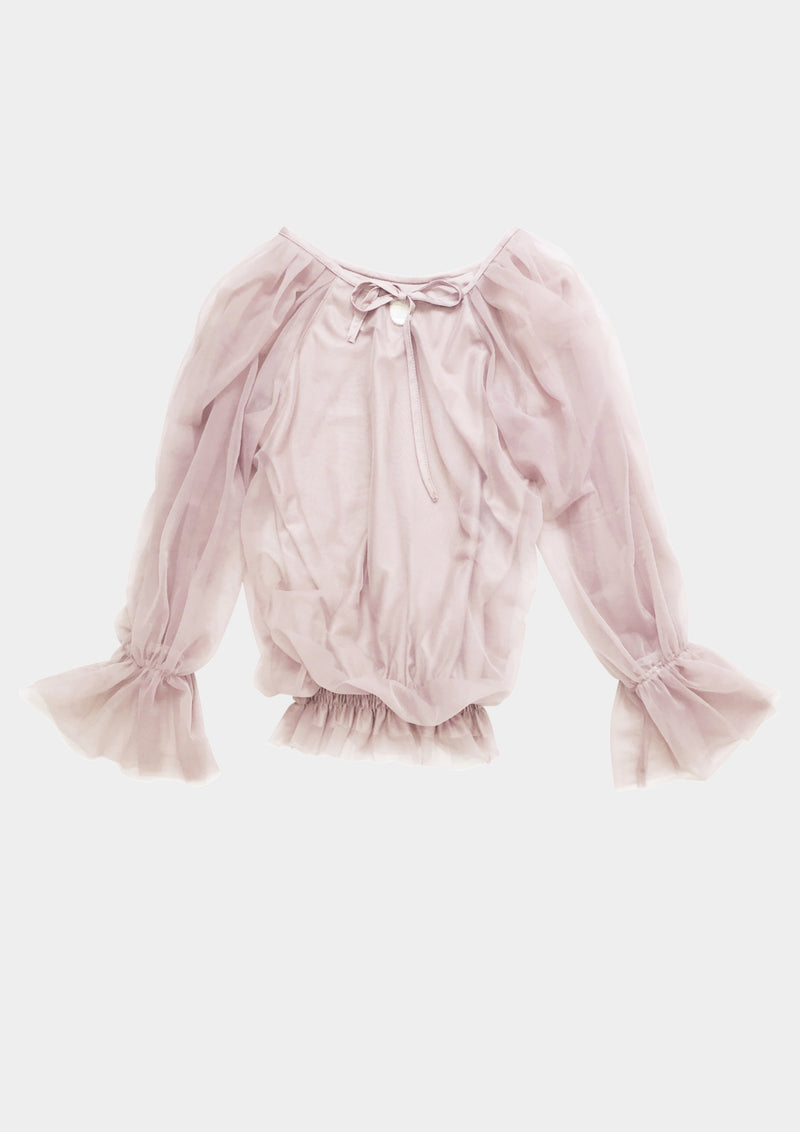 [ OUTLET!] DOLLY by Le Petit Tom ® FAIRY TOP LONGSLEEVE ballet pink