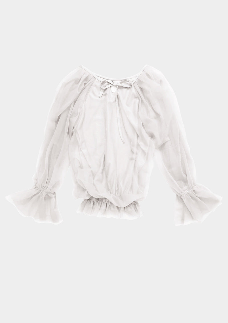 [ PRE ORDER *] DOLLY by Le Petit Tom ® FAIRY TOP LONGSLEEVE off-white