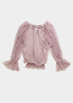 [ OUTLET!] DOLLY by Le Petit Tom ® FAIRY TOP LONGSLEEVE mauve