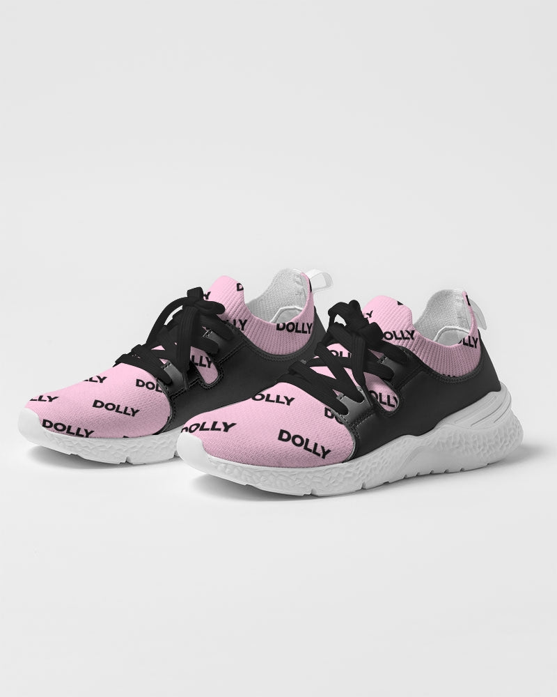 DOLLY REPEAT LOGO BABY PINK Women's Two-Tone Sneaker
