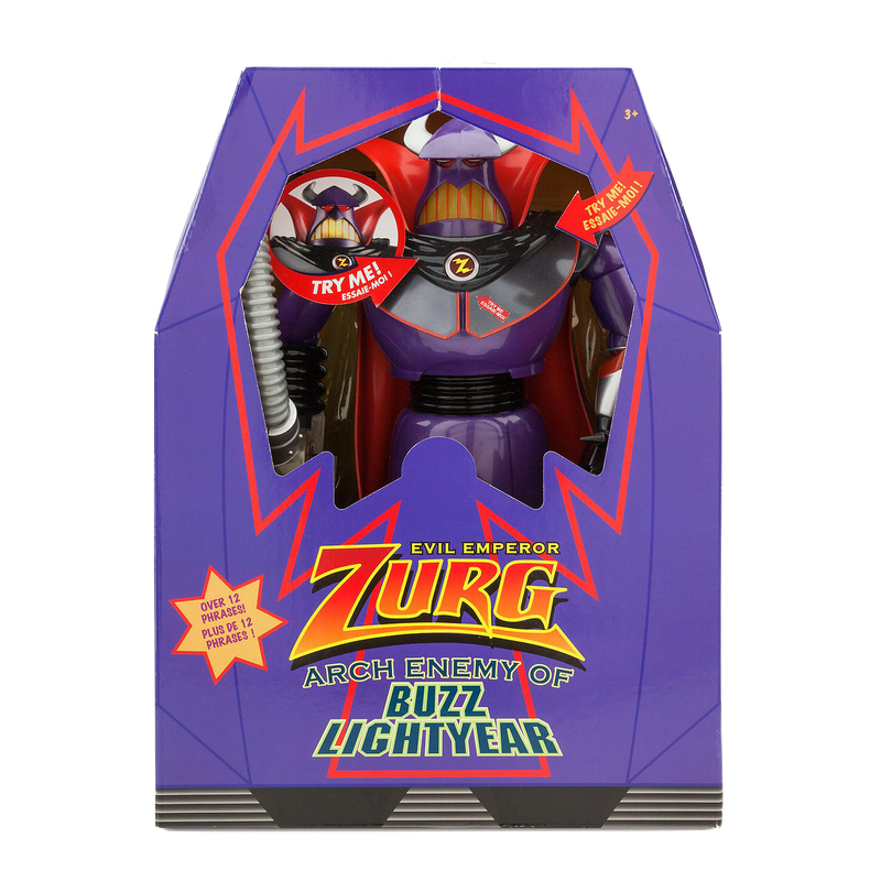 Toy Story Zurg Original Talking Doll Emperor Zurg  pop