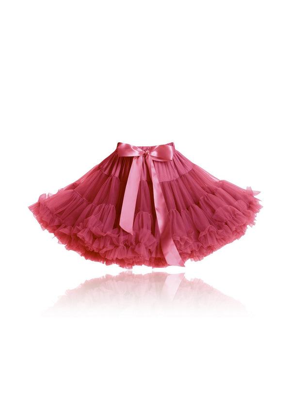 DOLLY by Le Petit Tom ® VINTAGE BARBIE pettiskirt fuchsia - DOLLY by Le Petit Tom ®