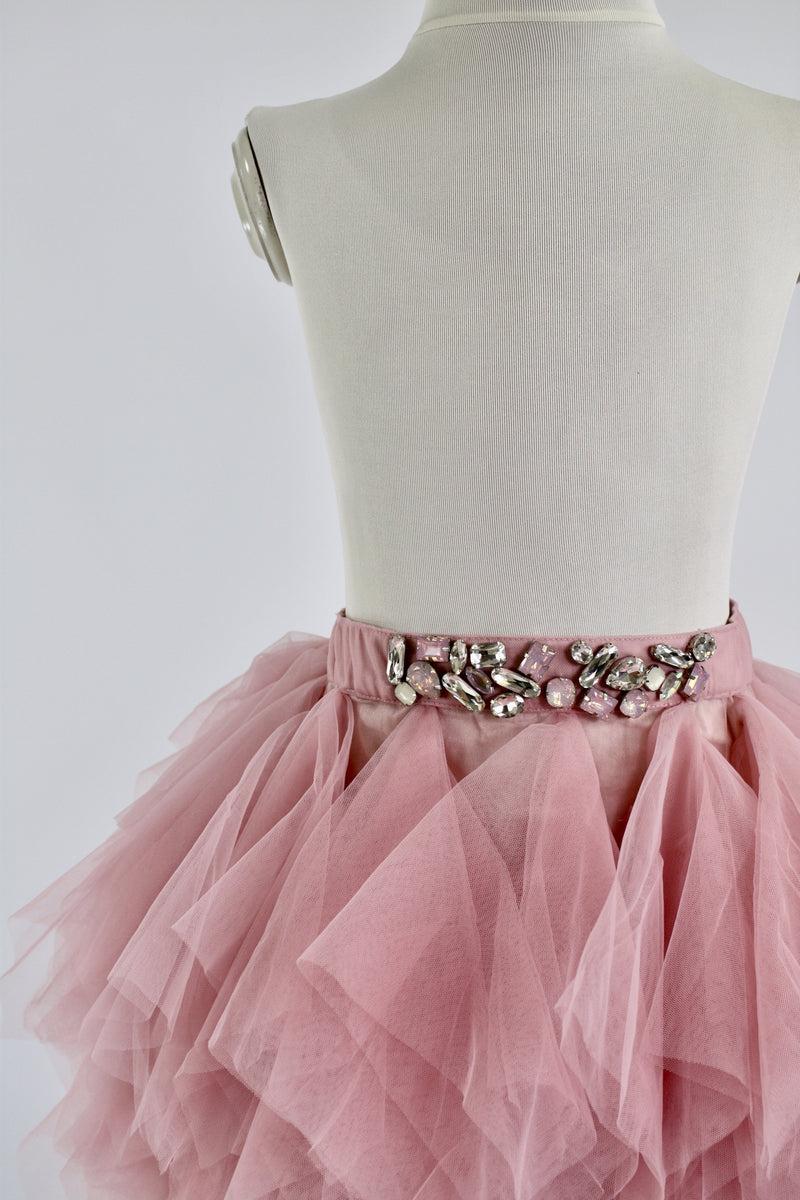 DOLLY by Le Petit Tom ® HANDKERCHIEF TUTU pink - DOLLY by Le Petit Tom ®