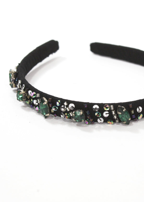 DOLLY by Le Petit Tom ® BLACK PANTHER hair band black - DOLLY by Le Petit Tom ®
