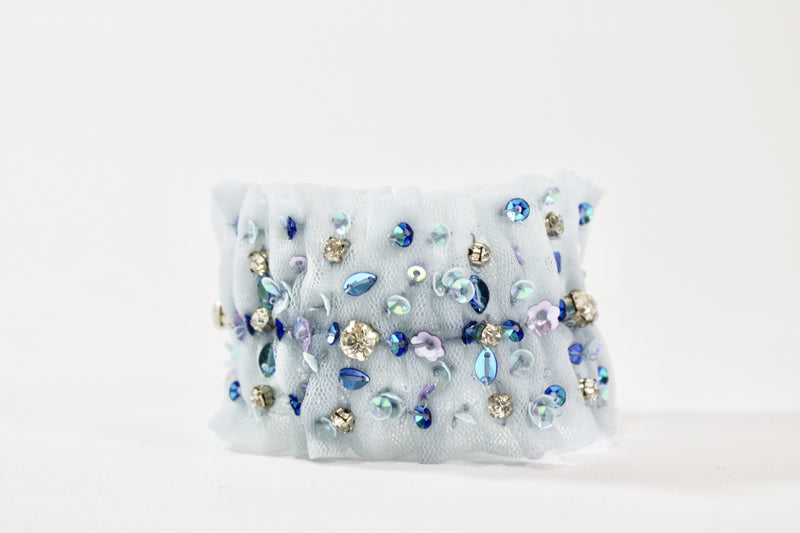 DOLLY by Le Petit Tom ® BLUE BIRD armband light blue - DOLLY by Le Petit Tom ®
