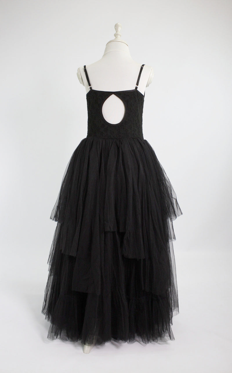 DOLLY by Le Petit Tom ® BEJEWELED tutu dress black - DOLLY by Le Petit Tom ®