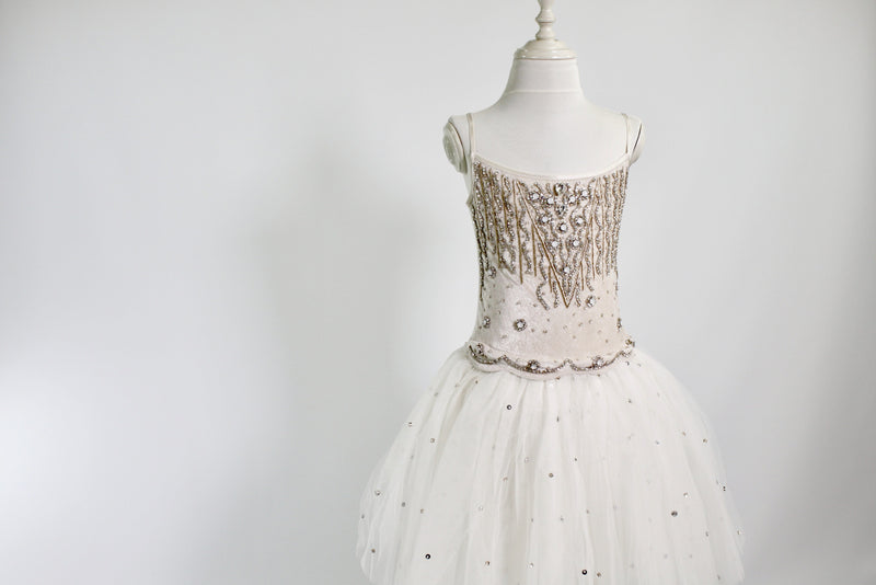 DOLLY by Le Petit Tom ® ENCHANTED tutu dress beige/ offwhite - DOLLY by Le Petit Tom ®