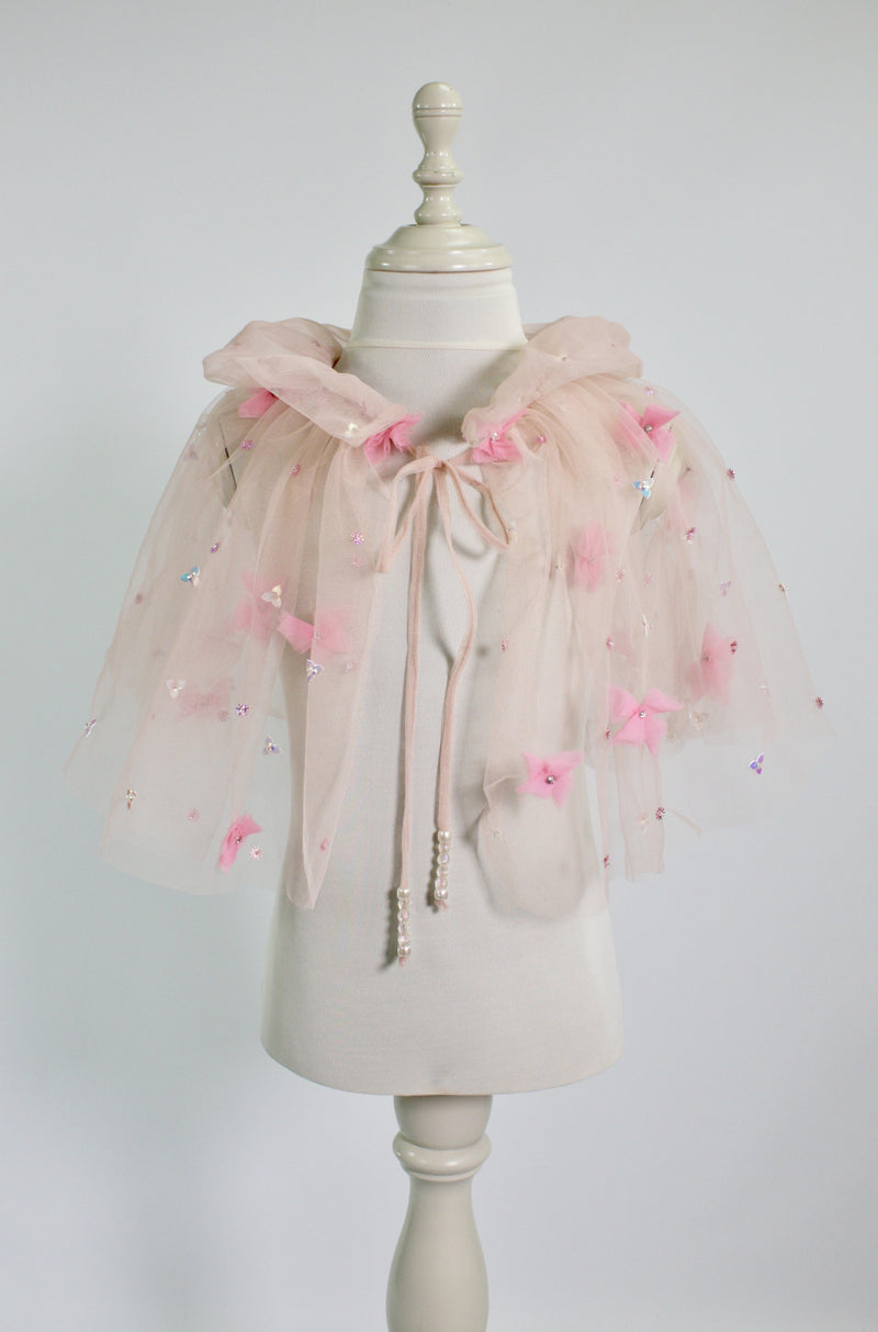 DOLLY by Le Petit Tom ® FLAMINGO cape ballet pink - DOLLY by Le Petit Tom ®