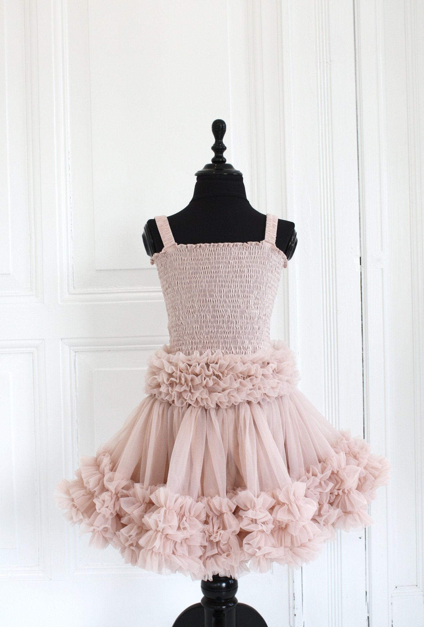DOLLY by Le Petit Tom ® FRILLY SKIRT ballet pink - DOLLY by Le Petit Tom ®
