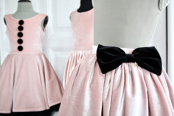 DOLLY by Le Petit Tom ® VELVET THE TUXEDO TUTU ballet pink - DOLLY by Le Petit Tom ®