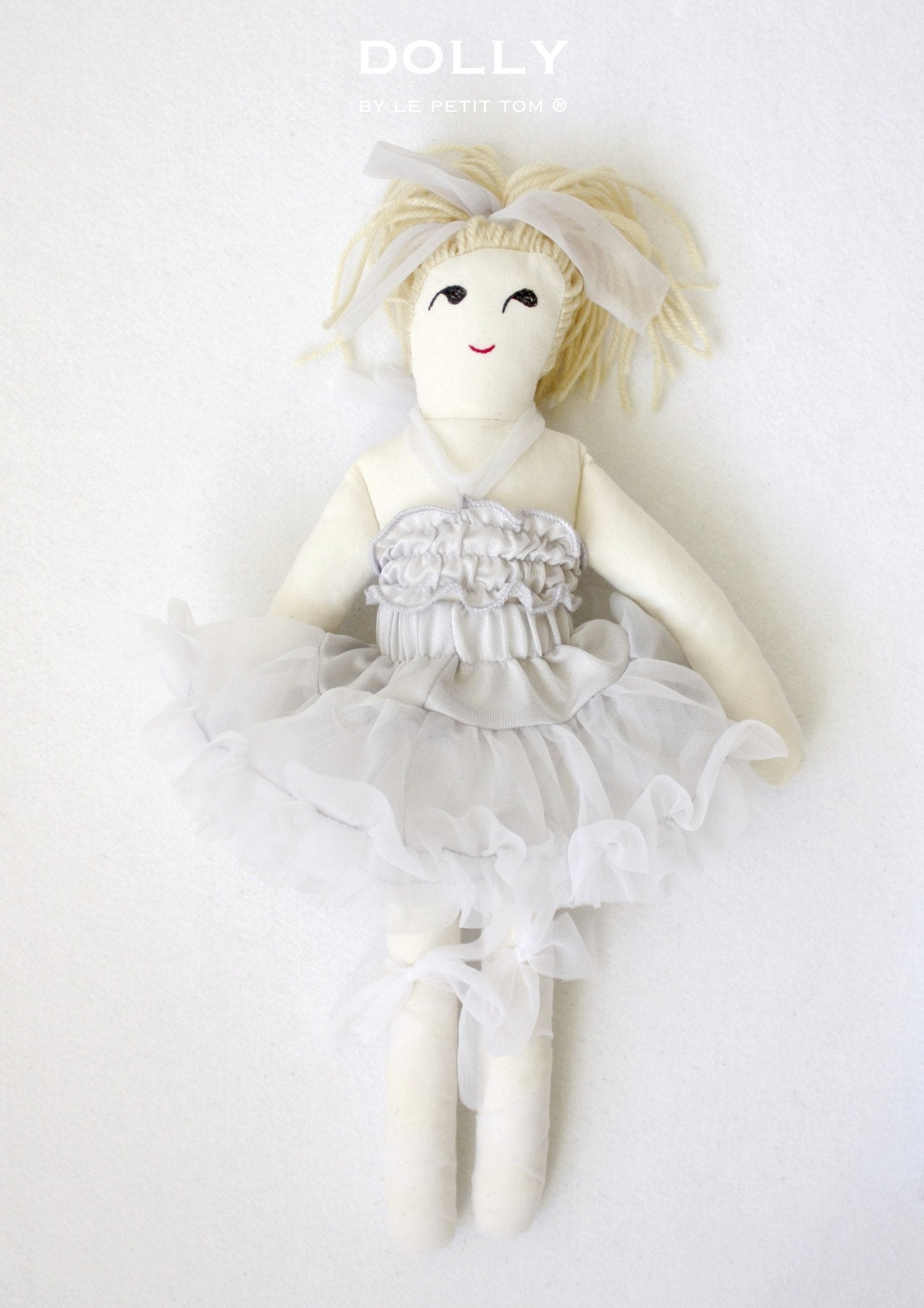 DOLLY by Le Petit Tom ® GRACE DOLL silvergrey - DOLLY by Le Petit Tom ®