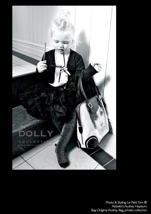 DOLLY by Le Petit Tom ® AUDREY HEPBURN pettiskirt black - DOLLY by Le Petit Tom ®