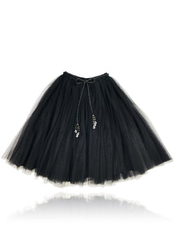 DOLLY by Le Petit Tom ® SIGNATURE LONG TUTU black - DOLLY by Le Petit Tom ®