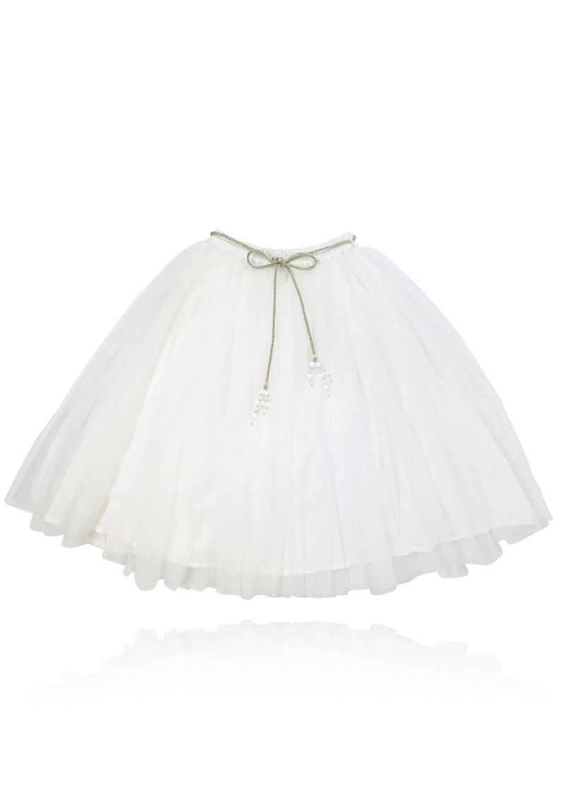 DOLLY by Le Petit Tom ® SIGNATURE LONG TUTU white - DOLLY by Le Petit Tom ®