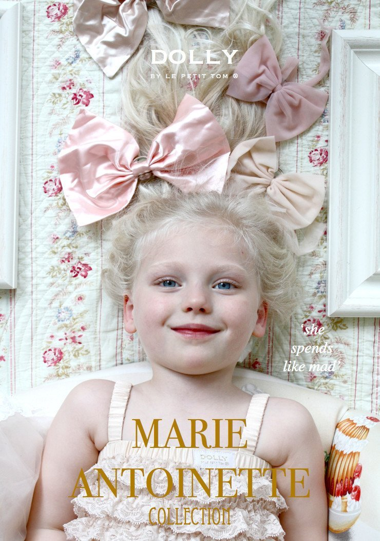 DOLLY by Le Petit Tom ® CLASSIC SATIN HAIRBOW - DOLLY by Le Petit Tom ®