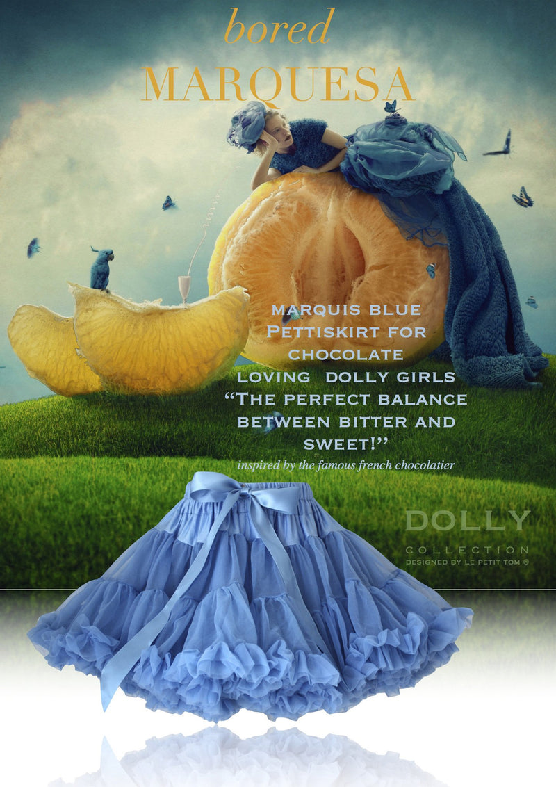 DOLLY by Le Petit Tom ® LA MARQUESA marquis blue - DOLLY by Le Petit Tom ®