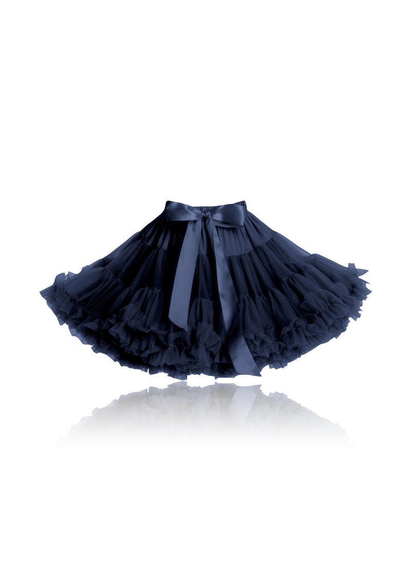 DOLLY by Le Petit Tom ® SNOW QUEEN pettiskirt dark blue navy - DOLLY by Le Petit Tom ®