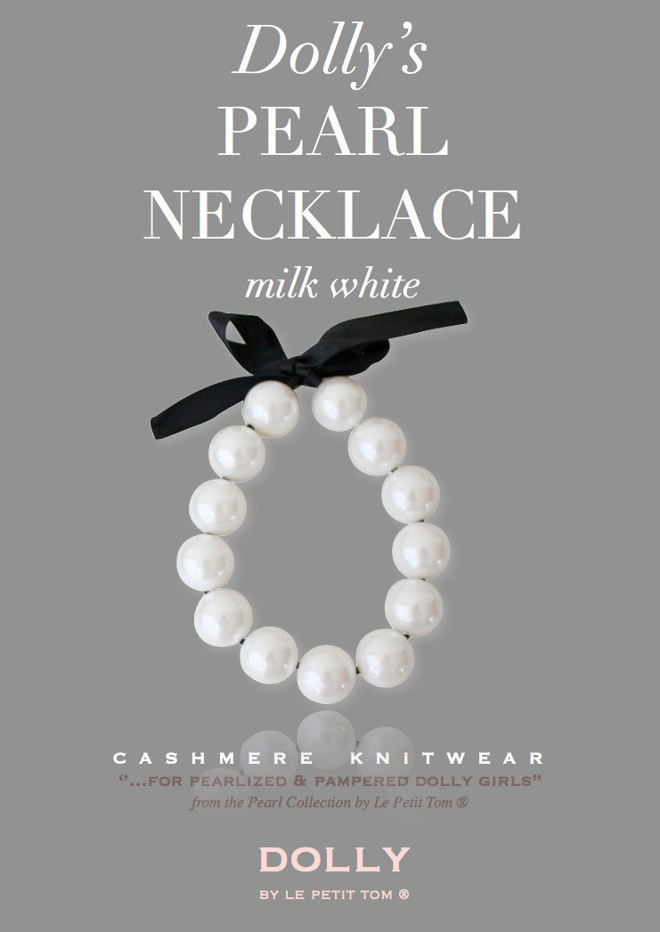 DOLLY by Le Petit Tom ® DOLLY GIANT PEARL NECKLACE - DOLLY by Le Petit Tom ®